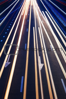 Abstract Real Traffic Road Background