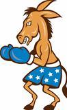 Donkey Jackass Boxing Stance