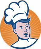 Chef Cook Baker Retro