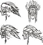 Amerindian Heads