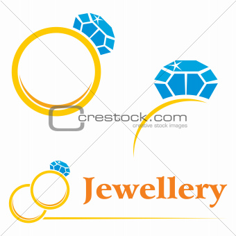 Rings with diamond
