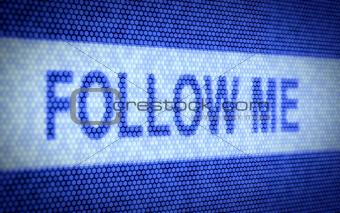 Follow me text