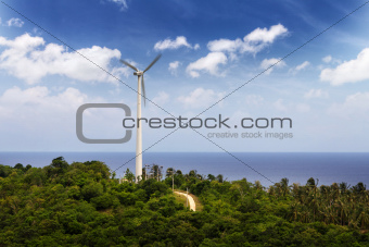 Windmill near the sea