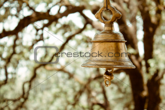 A bell in a temple