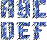 Set of initial letters ABCDEF