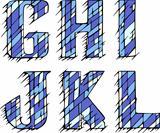 Set of initial letters GHIJKL