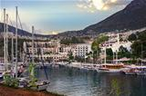 Sea port in the bay of Kalkan