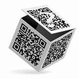 QR code on box