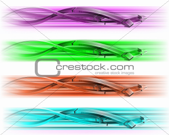Beautiful colored arrows