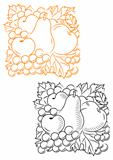 Fruits embellishment