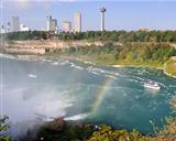rainbow over the niagara river