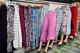 Inexpensive Clothing at the Market