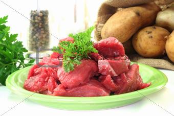 raw stew