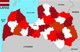 latvia map