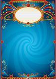 Magic abstract blue
