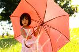 girl holding an Umbrella