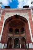Humayun`s Tomb arches, Delhi, India.