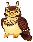 Funny owl.