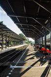 Train station in Thailand