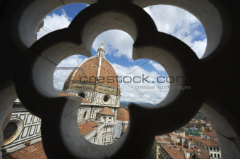 Duomo Florence Italy Architectural Detail