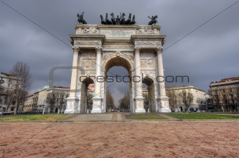 Arch of Peace, Milano