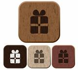 Set of giftbox icons.