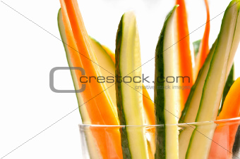 fresh pinzimonio snack appetizer