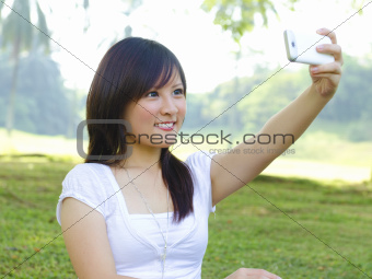 Self photographing