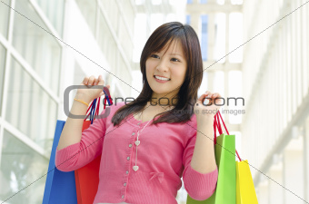 Asian shopper