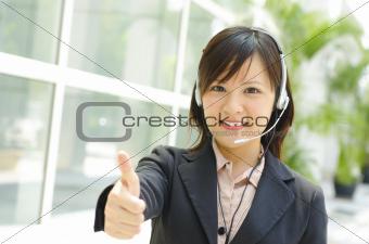 Thumb up Customer Representative