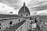view of the cathedral of Florence