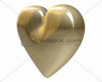 golden heart (3D)