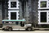 vintage jeepney intramuros manila philippines