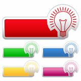 Stickers with Bulb
