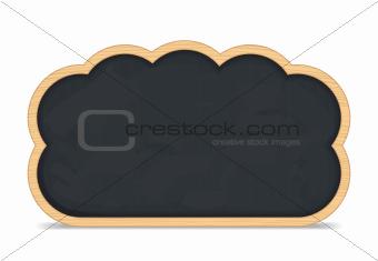 Blackboard Cloud Icon