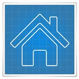 Blueprint House Icon