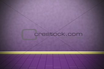 Empty purple wall