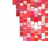 pink red abstract backdrop fragmented plane pattern