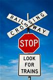 The Rail Road Sign