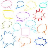 comic speech bubbles