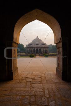 Ali Isa Khan Niazi Tomb Framed Humayun Complex