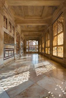 Tomb Salim Chishti Hallway Fatehpur Sikri