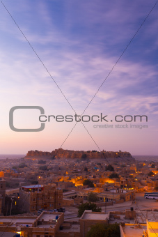 Jaisalmer Fort Sunrise Morning
