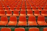 Stadium seats pattern