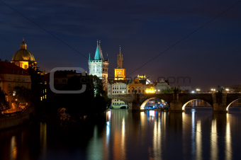  Karlov Bridge, Prague.