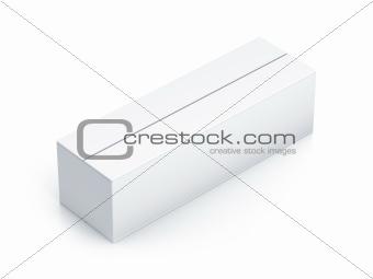 White long box.