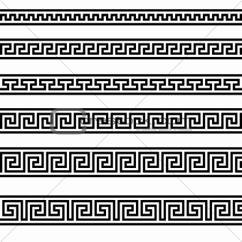 Greek Geometric Designs