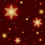 Fire Snowflakes Pattern