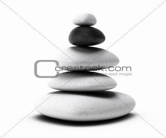 pebbles stack, stones arrangement, pyramid