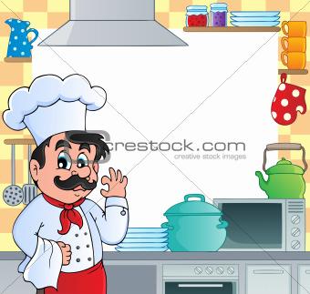 Kitchen theme frame 1